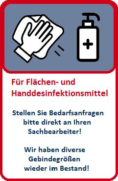 Flächen- und Handdesinfektionsmittel